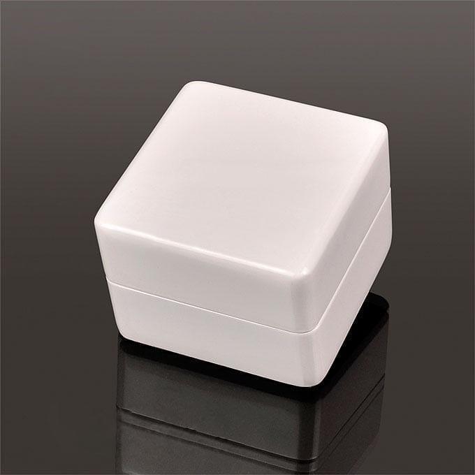 Engagement Ring Box Sale: Luxury Engagement Ring Box Wood White W/LED For Wedding