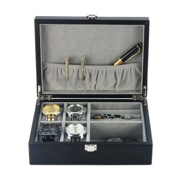 Cufflink jewellery box